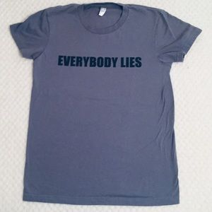 """Everybody Lies"" House MD T-shirt"
